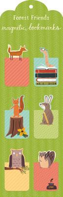 Forest Friends Magnetic Bookmark By Imamura, Yasmin (ILT)